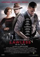 Lawless - Spanish Movie Poster (xs thumbnail)