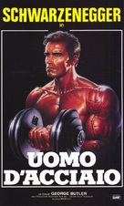 Pumping Iron - Italian Movie Poster (xs thumbnail)