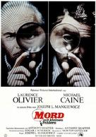 Sleuth - German Movie Poster (xs thumbnail)