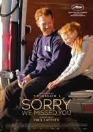 Sorry We Missed You - Swiss Movie Poster (xs thumbnail)