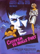 A Girl Named Tamiko - French Movie Poster (xs thumbnail)