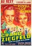 The Great Ziegfeld - Belgian Movie Poster (xs thumbnail)