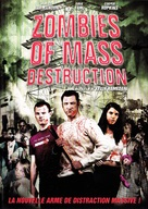ZMD: Zombies of Mass Destruction - French DVD cover (xs thumbnail)
