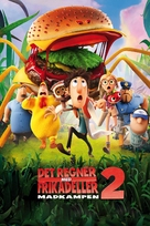 Cloudy with a Chance of Meatballs 2 - Danish Movie Cover (xs thumbnail)