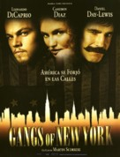 Gangs Of New York - Spanish Movie Poster (xs thumbnail)