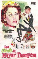 Les carnets du Major Thompson - Spanish Movie Poster (xs thumbnail)