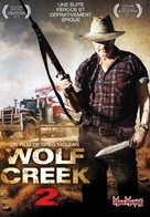 Wolf Creek 2 - French DVD cover (xs thumbnail)