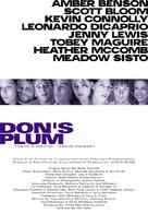 Don's Plum - Danish Movie Poster (xs thumbnail)