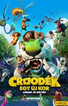 The Croods: A New Age - Hungarian Movie Poster (xs thumbnail)