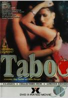 Taboo - DVD cover (xs thumbnail)