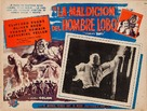 The Curse of the Werewolf - Mexican Movie Poster (xs thumbnail)