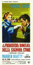 The Roman Spring of Mrs. Stone - Italian Movie Poster (xs thumbnail)