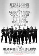 The Expendables - Finnish Movie Poster (xs thumbnail)