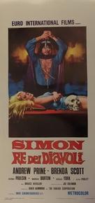 Simon, King of the Witches - Italian Movie Poster (xs thumbnail)