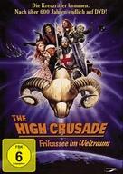 The High Crusade - German DVD cover (xs thumbnail)