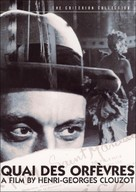 Quai des Orfèvres - DVD movie cover (xs thumbnail)
