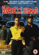 Boyz N The Hood - British DVD movie cover (xs thumbnail)
