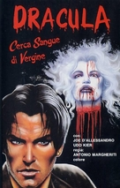 Blood for Dracula - Italian VHS movie cover (xs thumbnail)