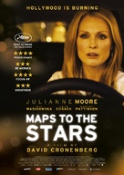 Maps to the Stars - Belgian Movie Poster (xs thumbnail)