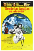Where Eagles Dare - Argentinian Movie Poster (xs thumbnail)