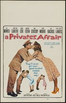 A Private's Affair - Theatrical movie poster (xs thumbnail)