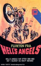 Hell's Angels '69 - Norwegian VHS cover (xs thumbnail)