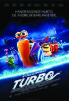 Turbo - Danish Movie Poster (xs thumbnail)