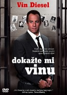 Find Me Guilty - Czech DVD cover (xs thumbnail)