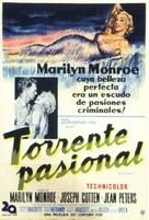 Niagara - Argentinian Theatrical poster (xs thumbnail)