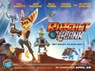 Ratchet and Clank - British Movie Poster (xs thumbnail)