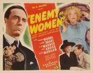 Enemy of Women - Movie Poster (xs thumbnail)