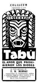 Tabu - Spanish poster (xs thumbnail)