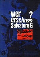 Salvatore Giuliano - German Movie Poster (xs thumbnail)