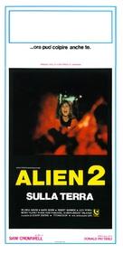 Alien 2 - Sulla terra - Italian Movie Poster (xs thumbnail)