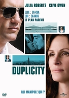 Duplicity - French Movie Cover (xs thumbnail)