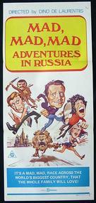 Neveroyatnye priklyucheniya italyantsev v Rossii - Australian Movie Poster (xs thumbnail)