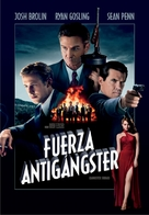 Gangster Squad - Argentinian DVD cover (xs thumbnail)