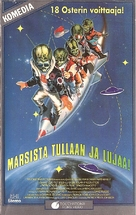 Spaced Invaders - Finnish VHS movie cover (xs thumbnail)