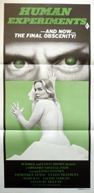 Human Experiments - Australian Movie Poster (xs thumbnail)