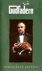 The Godfather - Swedish VHS movie cover (xs thumbnail)