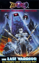 Warrior of the Lost World - German VHS movie cover (xs thumbnail)