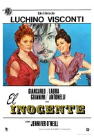 L'innocente - Spanish Movie Poster (xs thumbnail)