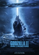 Godzilla: King of the Monsters - German Movie Poster (xs thumbnail)