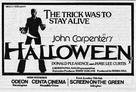 Halloween - British Movie Poster (xs thumbnail)