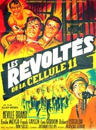 Riot in Cell Block 11 - French Movie Poster (xs thumbnail)