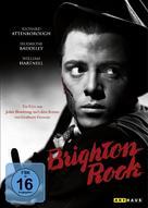 Brighton Rock - German DVD cover (xs thumbnail)
