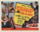 Champ for a Day - Movie Poster (xs thumbnail)