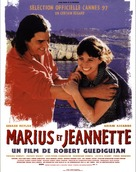 Marius et Jeannette - French Movie Poster (xs thumbnail)