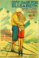 Syv dager for Elisabeth - Norwegian Movie Poster (xs thumbnail)