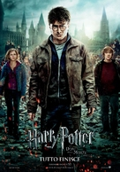 Harry Potter and the Deathly Hallows: Part II - Italian Movie Poster (xs thumbnail)